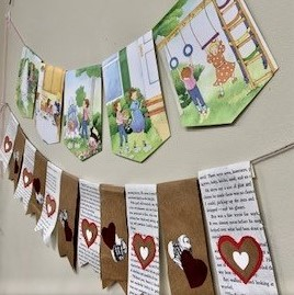 Book Page Pennant Banners