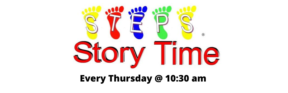 STEPS Story Time Banner